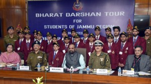 Children from J&K call on MoS Home