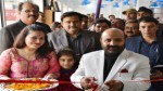 Health Minister Bali Bhagat launching Cable Network on Sunday.