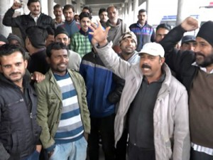 Kathua Bus Union goes off the road