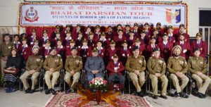 DyCM flags off 'Bharat  Darshan' tour by BSF