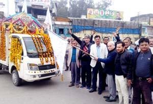 Kabir Sabha takes out Shobha Yatra