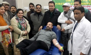 Blood donation one of noblest acts: Zulfkar