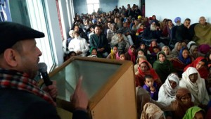 Congress expresses concern over  continuous neglect of Bishnah