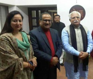 DyCM discusses power, housing sectors with Haryana CM