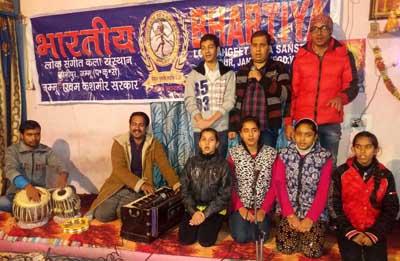 Artists during musical play 'Khushaali Ki Aur'.