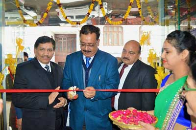 Commissioner Secretary, Finance Navin Kumar Choudhary inaugurating new premises of JKGB at Channi Himmat in Jammu.