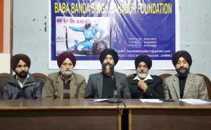 BBSBF demands installation of Baba Banda Singh's statue at Kunjwani Chowk