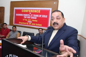 Modi Govt has no objection to homeland, colonies for KP: Singh