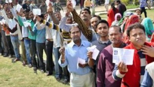 57.36 pc turnout in ph-V of UP polls