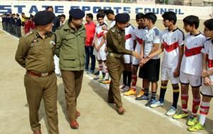 'Khelo Khel-Bhulo Nasha' Jammu Soccer C'ship gets underway