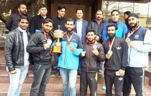 J&K wins 3rd place in 25th Senior National Wushu C'ship