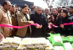 Govt to revive traditional crops: Hanjura