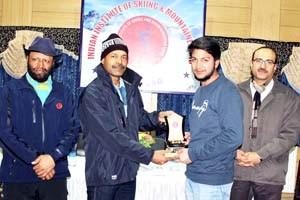 IISM completes 3rd Ski Course in Gulmarg