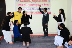 Theatre workshop begins at Degree College Reasi