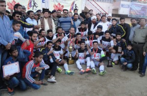 Young Rovers wins SSB Football Tournament
