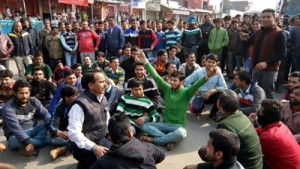 Residents protest  against PDD, block NH