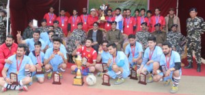 Three day Football Tournament concludes