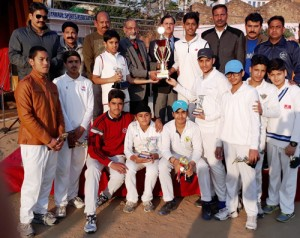 Jammu Rising Stars wins  7-Match New Year Cricket Series