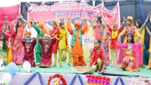 Jammu Sanskriti School Kathua  celebrates 1st Annual Function 'Prayaas'