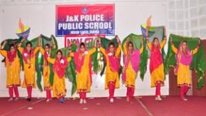 J&K Police Public School  organizes Dance Competition