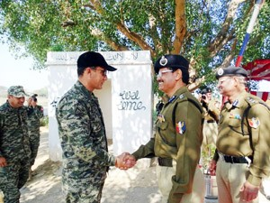 BSF, Rangers commit to peace
