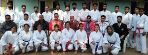 J&K Karate team leaves for Senior Nationals