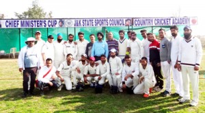 Baramulla CC registers big win in Chief Minister's Cricket Cup