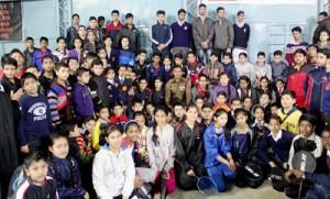 Police Badminton Tournament begins at Udhampur