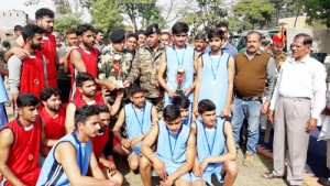 80 Bn BSF organizes Volleyball Tournament