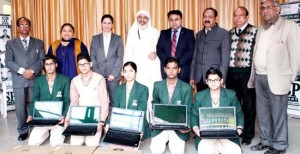 Laptops, Certificates distributed among merit-holders at SP Smart School