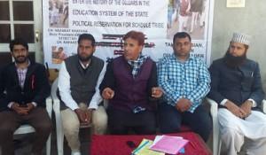 Khatana stresses for permanent  rehabilitation of tribal people
