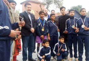 Ansari honours Jump Rope medal winners, announces cash prize