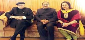 Nirmal meets Shah, Advani, Ram Lal