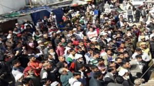 People  protest against opening  of bar, block road for 3 hrs