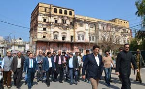 Joint House Panel inspects restoration work of Mubarak Mandi Complex