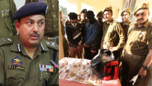 Asstt Branch Head among two arrested, stolen gold worth over Rs 15.174 crore recovered