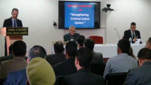 Conference on criminal justice system organized