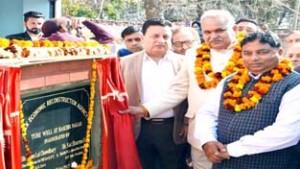 Govt working on streamlining potable water supply in Jammu: Sham