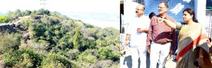 Speaker for providing better facilities at Mahamaya temple