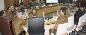DGP reviews functioning of Armed Police