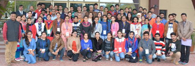 Participants of NCRAMSS-2017 posing for a group photograph during valedictory function on Friday.
