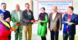 IETE Jammu Centre  celebrates Students Day
