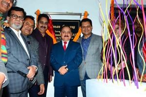 Kotwal inaugurates renovated  library at Amar Singh Club