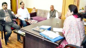 DG IIMC calls on Priya, discusses modalities for permanent campus