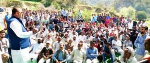 Bari Panchayat taken up for development under Tribal Sub Plan: Ganga