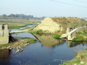 Multipurpose check dam awaits completion for 10 years
