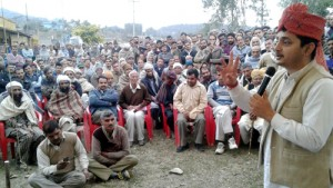 Pathania accorded warm welcome in Majalta