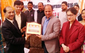 Dr Manyal inaugurates  Special Outreach Prog