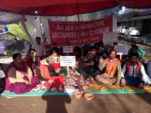 Hunger strike by Contractual  Lecturers enters 12th day