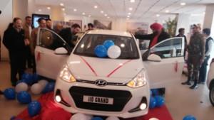 Devika Hyundai launching new Grand I10 on Saturday.